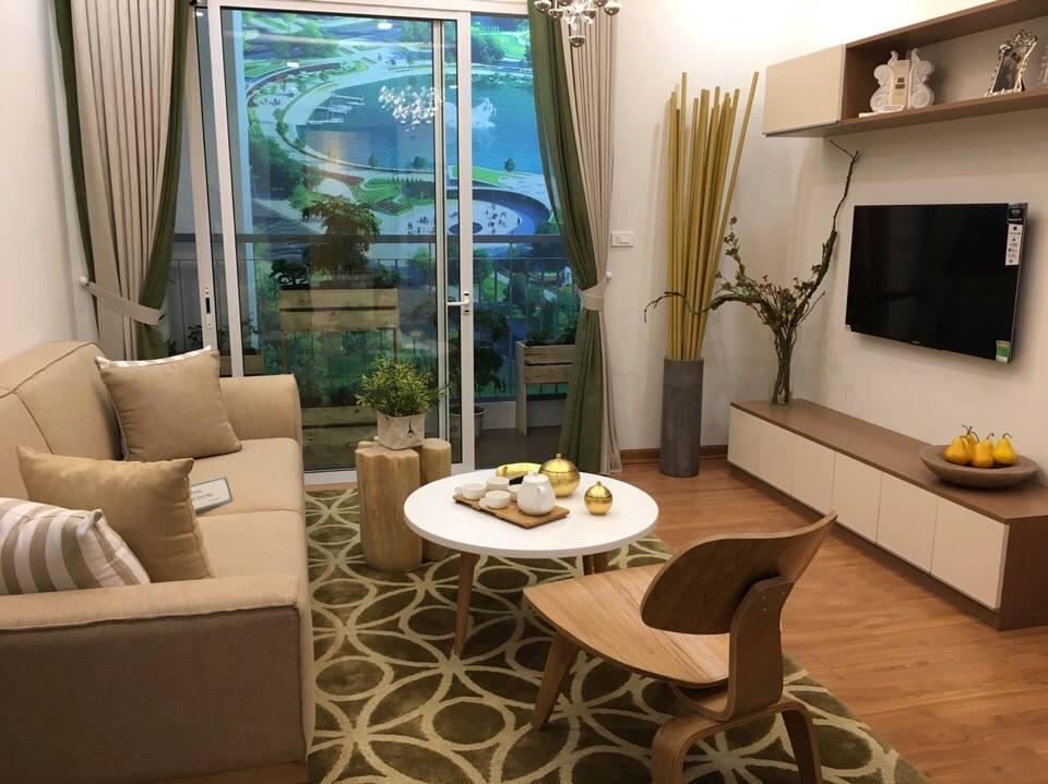 Phòng khách căn hộ Anland Complex